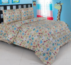 Sprei Panca The Zoo Coklat