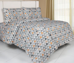 Sprei Panca Triangle Orange
