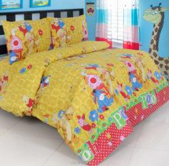 Sprei Panca Winnie The Pooh Honey Kuning