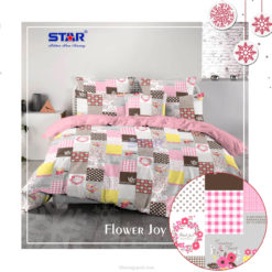Sprei Panca Star Flower Joy