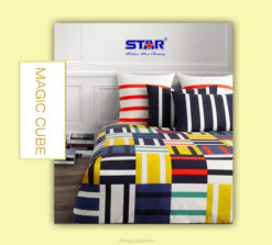 Sprei Panca Star Magic Cube